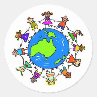 Australian Kids Sticker