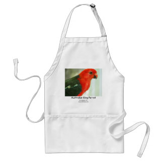 Australian King Parrot Adult Apron