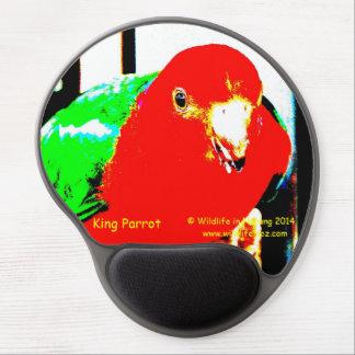 Australian King Parrot Gel Mouse Pad