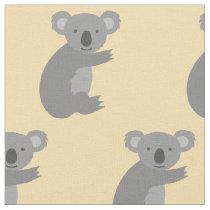 Australian koala bear pattern fabric DIY textile