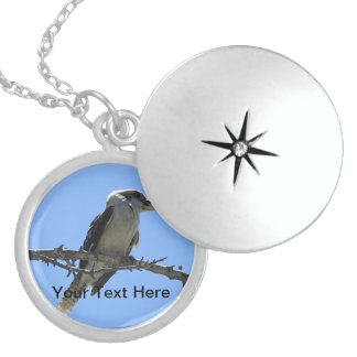 Australian Kookaburra Locket Necklace