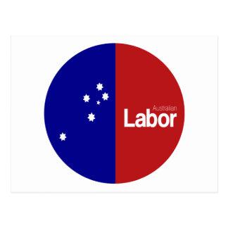 Australian Labor Party 2013 Postcard