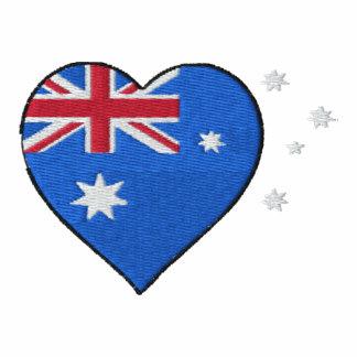 Australian love heart ladies t-shirt