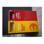 Australian mailbox. post card