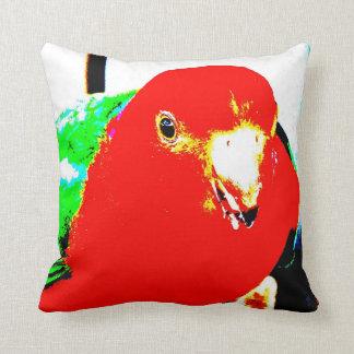 Australian Male King Parrot Pillows