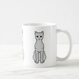 Australian Mist Cat Cartoon Coffee Mug