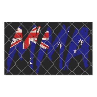 Australian MMA Sticker sticker