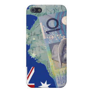 Australian Money & Flag Case For iPhone SE/5/5s