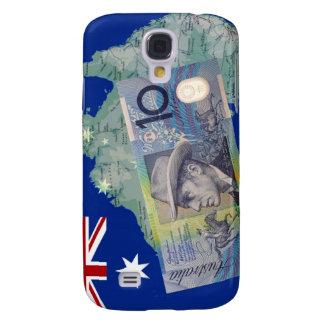 Australian Money & Flag Samsung Galaxy S4 Case