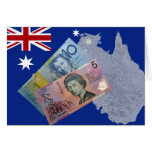 Australian Money Greeting Cards
