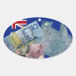 Australian Money Stickers