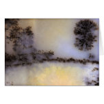 Australian Moss Agate Stationery Note Card