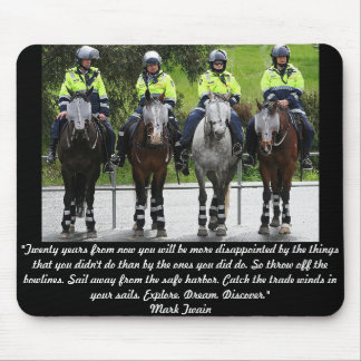 Australian Mounted Police Mouse Pad