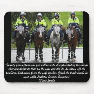 Australian Mounted Police Mousepad