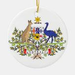 Australian national emblem ornaments