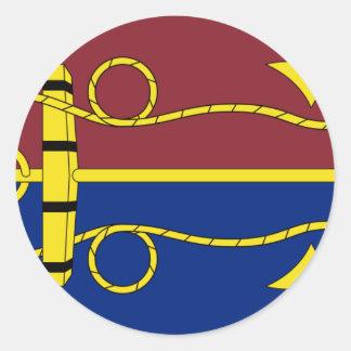 Australian Navy Board, Australia flag Classic Round Sticker