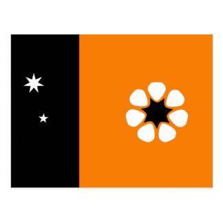 Australian Northern Territory Flag Postcard