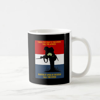 AUSTRALIAN NZ  DEFENCE  CO-OPERATION COFFEE MUG