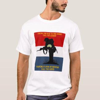 AUSTRALIAN NZ  DEFENCE  CO-OPERATION T-Shirt
