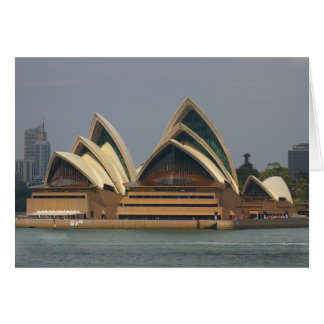 Australian Opera House Notecard Stationery Note Card