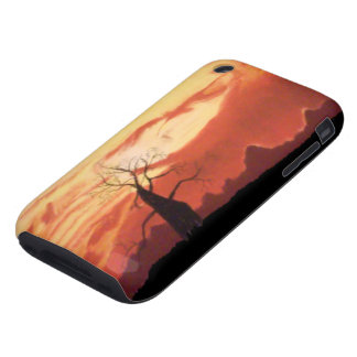 Australian Orange Sunset iPhone 3G 3GS Tough Case