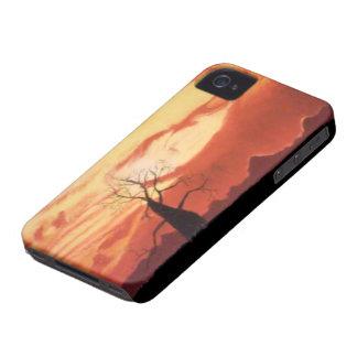 Australian Orange Sunset iPhone 4 BT Case