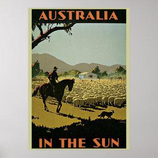 Australian Outback Poster