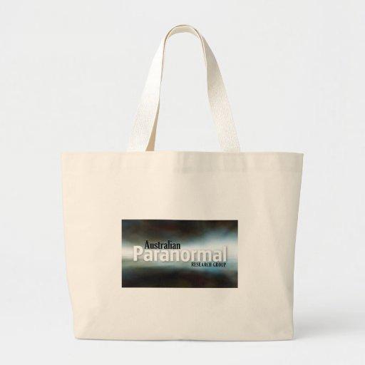 Australian Paranormal Research Group  Merchandise Canvas Bags