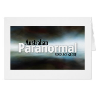 Australian Paranormal Research Group  Merchandise Card