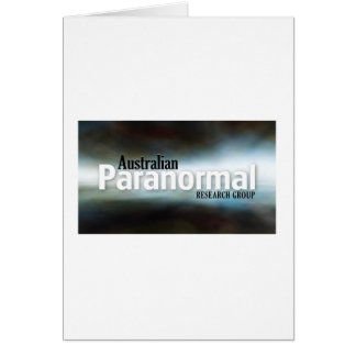 Australian Paranormal Research Group  Merchandise Card