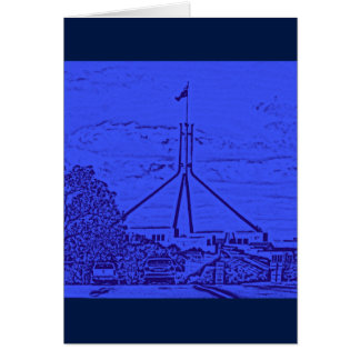 Australian Parliament - Canberra Card