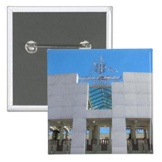 Australian Parliament - Canberra Pinback Button