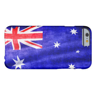 Australian Patriotic Flag of Australia for Aussies Barely There iPhone 6 Case