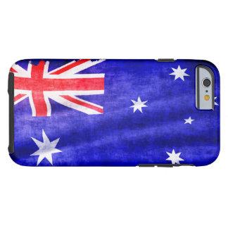 Australian Patriotic Flag of Australia for Aussies Tough iPhone 6 Case