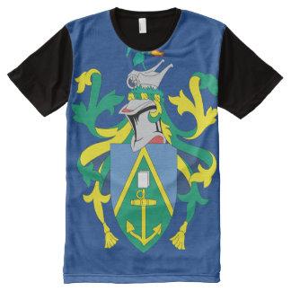 Australian Pitcairn Islands Flag All-Over Print T-shirt