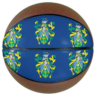 Australian Pitcairn Islands Flag Basketball