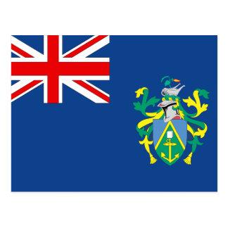 Australian Pitcairn Islands Flag Postcard