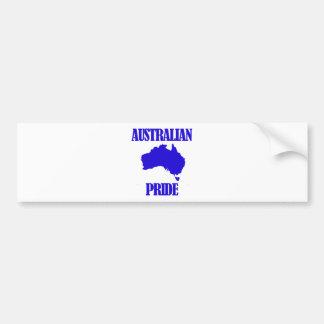 Australian pride designs bumper sticker