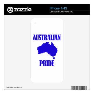 Australian pride designs skin for iPhone 4S