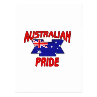 Australian pride postcard