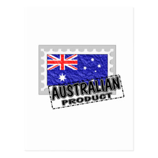 Australian product postcard