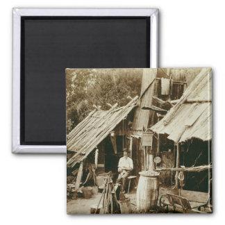 Australian prospector, c.1880s (sepia photo) magnet