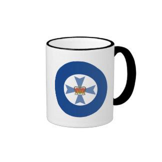 Australian Queensland Flag Ringer Mug