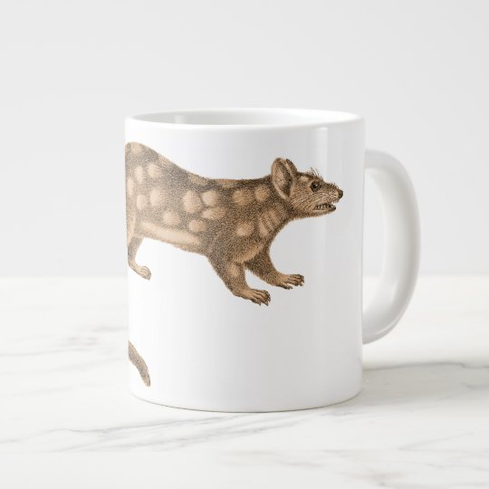 Australian Quoll - Fierce Feisty Little Marsupial Large Coffee Mug