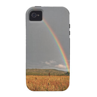 Australian rainbow over the Gold Coast Case For The iPhone 4