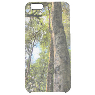 Australian Rainforest Eucalyptus Gum Trees Clear iPhone 6 Plus Case