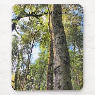 Australian Rainforest Eucalyptus Gum Trees Mouse Pad
