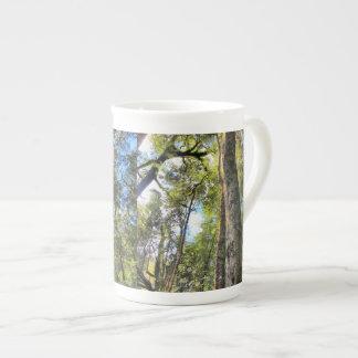 Australian Rainforest Eucalyptus Gum Trees Tea Cup