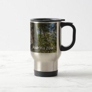 Australian Rainforest Eucalyptus Gum Trees Travel Mug