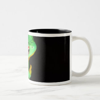 Australian Red Eye Treefrog, Litoria chloris, Two-Tone Coffee Mug